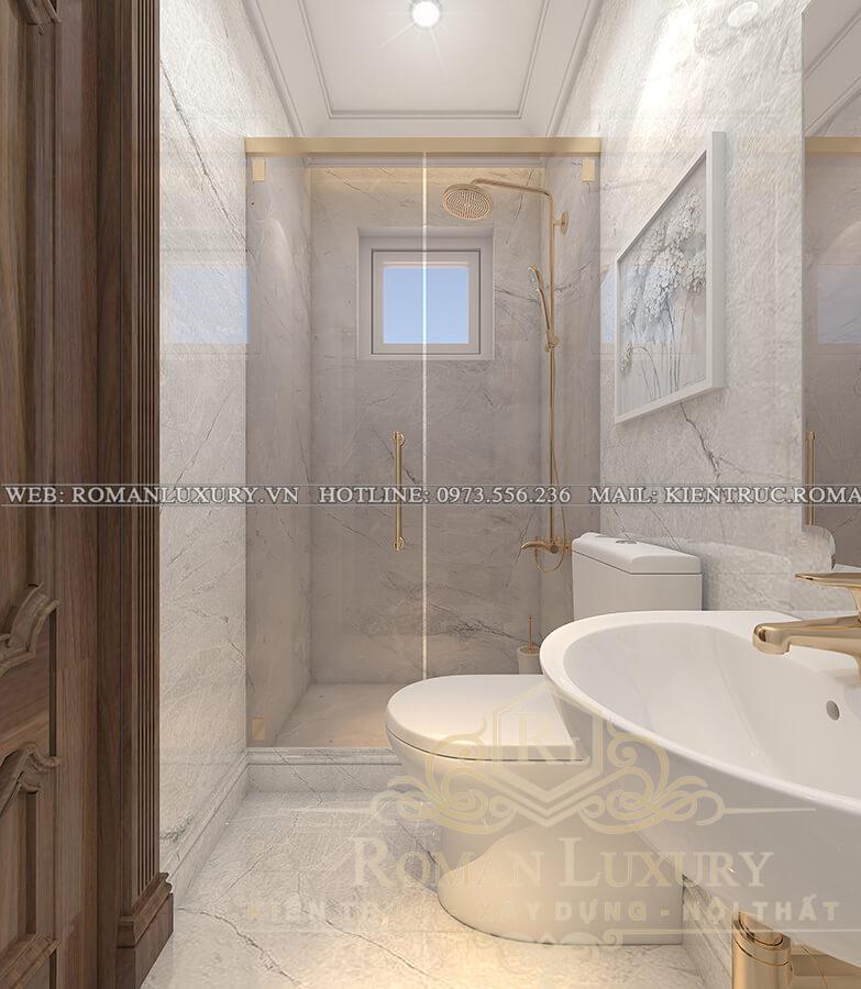 WC biệt thự 3 tầng kiểu châu âu