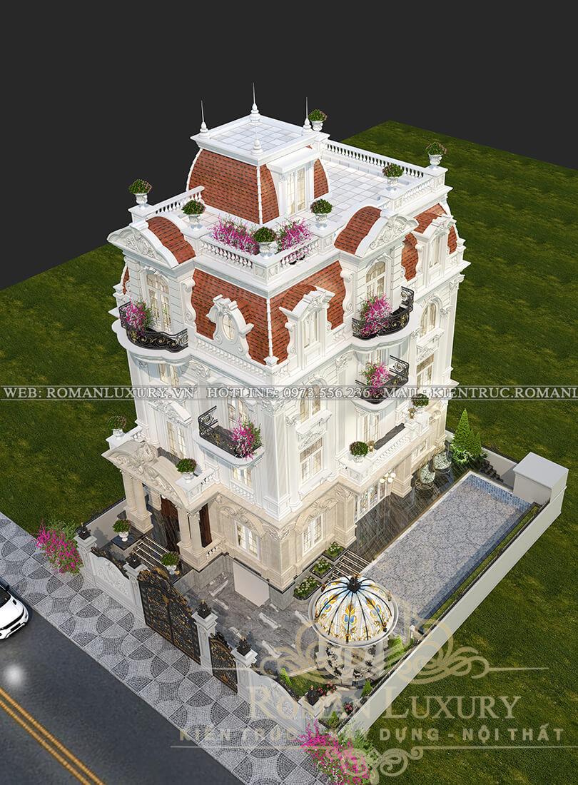 mặt tiền kiến trúc tân cổ điển