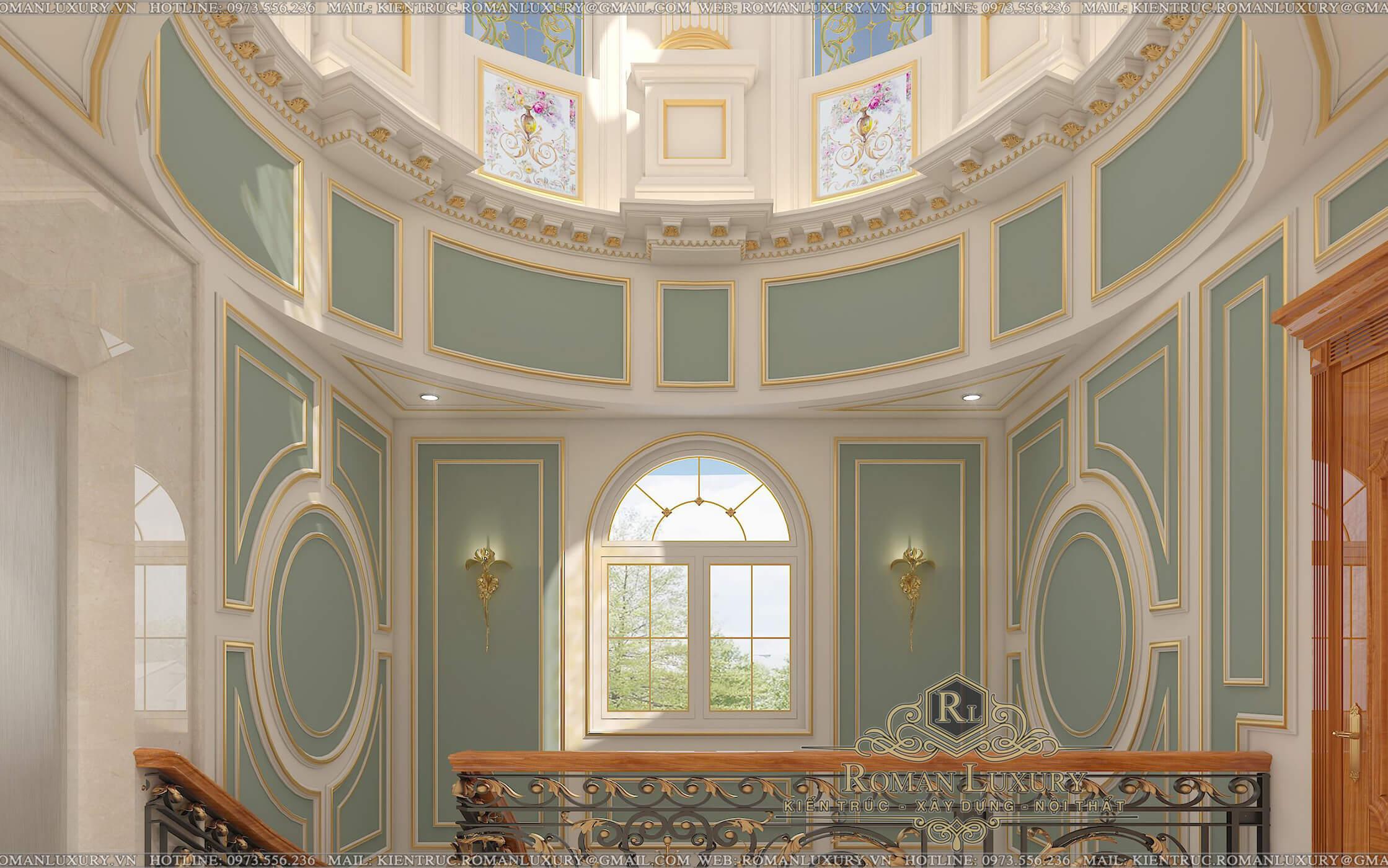 biệt thự tân cổ điển châu âu 39