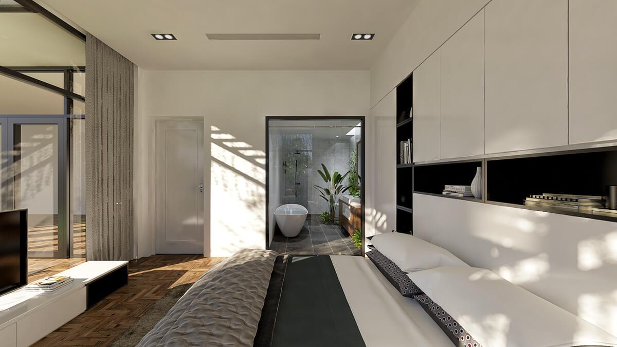 mẫu biệt thự hiện đại 3 tầng đẹp 17