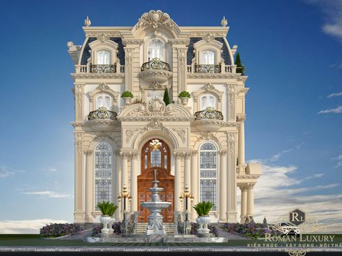 phong cách cổ điển trong thiết kế kiến trúc nội thất