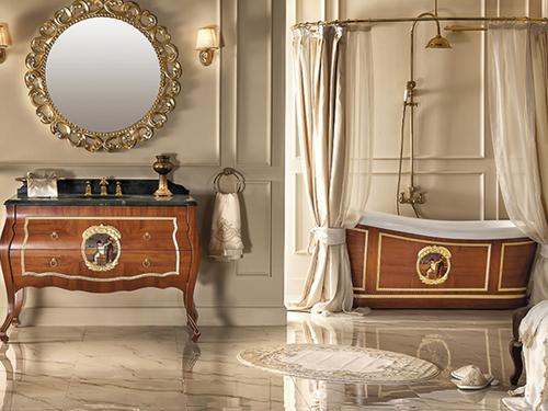 phòng tắm tân cổ điển 13