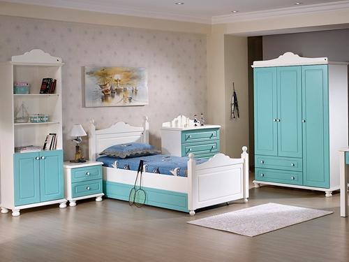 thiết kế nội thất phòng ngủ bé trai tân cổ điển đẹp