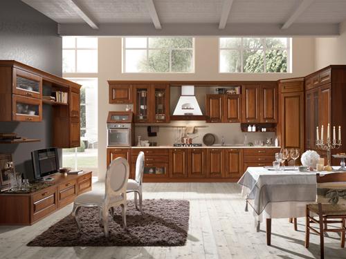 tủ bếp tân cổ điển 19 hinh fsi firn