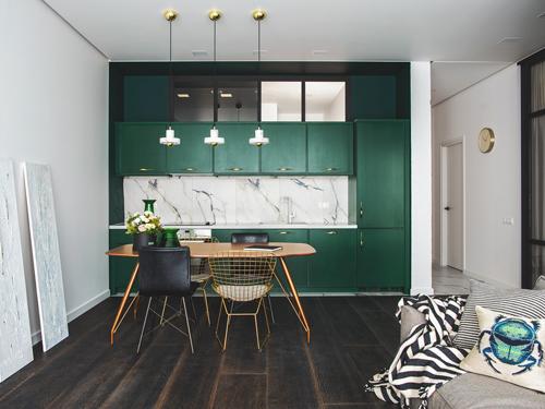 phòng bếp đẹp đơn giản